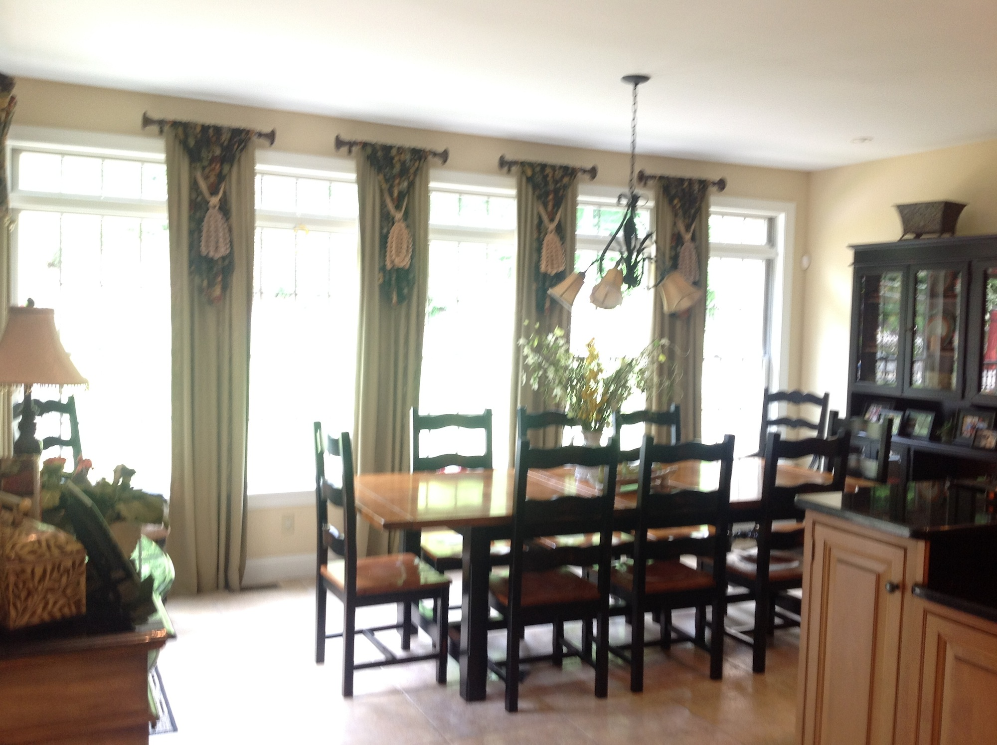 Designs Benfer S Interiors Custom Drapes And Curtains